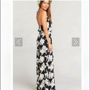 NWT Show Me Your Mumu Floral Maxi Dress 🖤